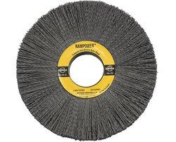 "BR CW812022120SC 2.5"" Bristle L Nampower Hub Abrasive Nylon Wheel Brush"