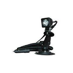 LE 45'X40' Flood 3 Watt Colored LED Spotlight on Suction Cup Mount