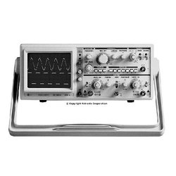 EZ Digital OS-5020G Oscilloscope with Built-In 1MHz Function Generator