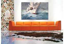 "iCanvasART Winslow Homer 40""x26"" Diamond Shoal Canvas Art Print"