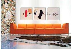 "Kazimir Malevich 48""x16"" 3-Pc Suprematist Composition Canvas Art Print"