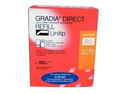 GC America 001977 B2 Gradia Direct Unitip - Pack of 10