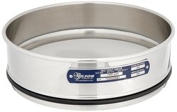 Gilson V200SF 140U Stainless Steel ISO Round Test Sieve