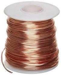 Small Parts Bare Copper Wire 1Pk - Bright - 11895' Length
