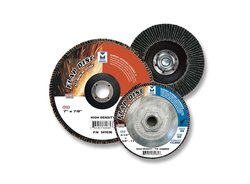 "Mercer Abrasive High Density 80 Grit Flap Discs 10PK - Alum Oxide - 5""/11"""