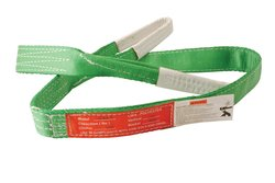 "Vestil SL-4-F-6 Polyester Lift Sling - Green - Size: 6""L X 2""W"