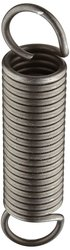 "Small Parts Music Wire Extension Spring 10 Pcs 6"" Free Length 15.4 lbs/in"