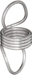 """Small Parts Extension Spring 10Pc 4"""" Free Length 2.08 lbs/in Spring Rate"""