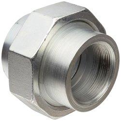 "Anvil 2125 Forged Steel AAR Pipe Fitting Union - 1-1/2"" NPT Male"