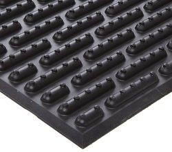Ergomat Nitrile Rubber Anti Fatigue Mat - Black - 2' W x 7' L