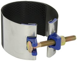 """Smith Blair Stainless Steel Repair Clamp with Carbon Steel Bolt - Size: 4"""""""