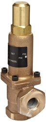 Cash Valve Stainless Steel Bronze Back Pressure Relief Valve - Size: 1/2""