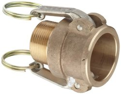 PT Coupling Basic Standard Series 20B Brass Cam & Groove Hose Fitting
