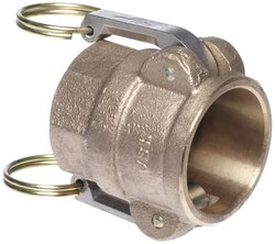 PT Coupling E05D Brass Cam & Groove Hose Fitting - Size: 1/2""