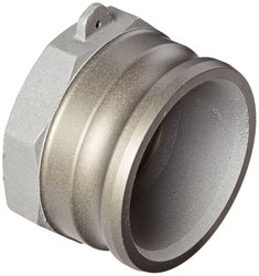 "PT Coupling Hard Coat Reducer Cam & Groove Hose Fitting - Size: 4"" x 3"""