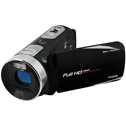 Bell & Howell Fun Flix DV50HD 1080p HD Video Camera Camcorder (Black)