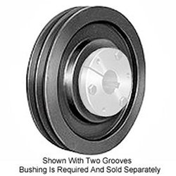 Browning 43V800SK Q-D Sheave, Cast Iron, 4 Groove, 3V Belt, Uses SK Bushing