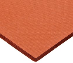 "CS Hyde Silicone Sponge Rubber - Thick Red - Size: 12"" X 12"""