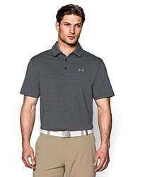 Under Armour Men's Performance Polo - Asphalt Heather/Steel - Size: M