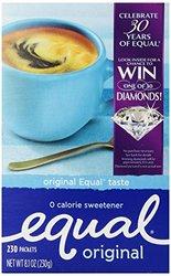 Equal Aspartame Sweetener Packs - Blue - Size: 004Oz