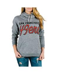 Junk Food NFL San Francisco 49ers Women's Hoodie - Heather - Size: L