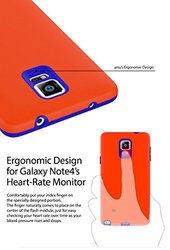 ARAREE Amy Case for Galaxy Note 4 - Retail Packaging - Pink/Emerald