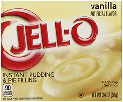 Jell-O Instant Pudding & Pie Filling - Vanilla - 34Oz