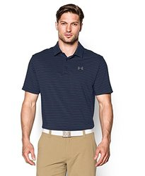 Under Armour Men's Performance Polo Shirt: Playoff-blue-steel/3xl