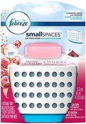 Febreze Small spaces Fresh Twist Cranberry Starter Kit Air Freshener (1 Count, 5.5 Ml), 0.009 Pound