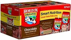 Horizon Organic Chocolate Lowfat Milk 18 Pack - 8 Oz