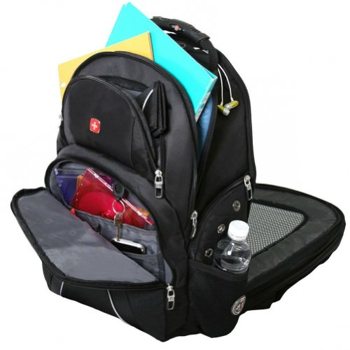 Swiss Gear SwissGear Backpack - Black/Grey (SA1932) - Check Back ...