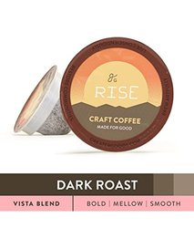 Greater Goods Grade Coffee for Keurig K-Cup Brewers 72 Ct - Vista Blend