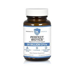 Probiotic America Perfect Biotics Probiotic Supplement Supports - 30 Cap