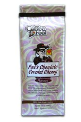 The Coffee Fool Drip Grind Coffee, Fool's Chocolate Covered Cherry Strong, 12 Ounce