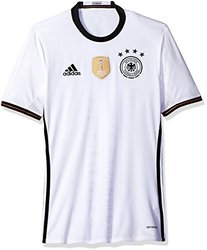 International Soccer Germany Men's Jersey, X-large, White/black