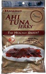 Itsumo Wild Ahi Tuna Jerky Sweet Sashimi Grade Yellowfin Tuna