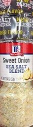 McCormick Sweet Onion Sea Salt Blend Grinder 6PK - 2.04Oz