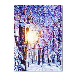 Mandy Budan 18x24 Canvas Art: Early Riser