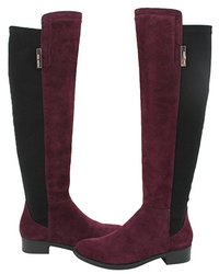 Vince Camuto Women's Kellisi Stretch Boots - Black/Bordeaux - Size: 8