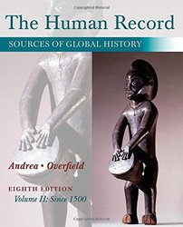 The Human Record Sources of Global History Volume II - Paperback