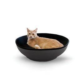 """K&H Pet Gray/Black Medium 22"""" Mod Half-Pod"""
