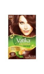 Dabur Vatika Henna Based Multiple Hair Color 2.11oz - Natural Brown