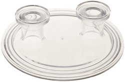Nalgene Polycarbonate Sanitary End Cap with Flange Mount
