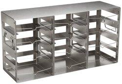 Nalgene Stainless Steel Horizontal CryoBox Cryogenic Vial Rack