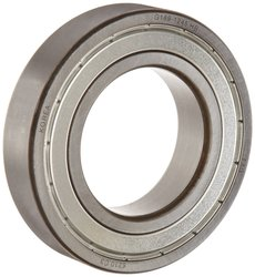 Fag Deep Groove Ball Bearing Steel Cage 7500Rpm Rotational Speed