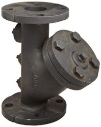 "Flexicraft Yif Cast Iron Wye Strainer with Flange End - Size: 2""IDx9-7/8""L"