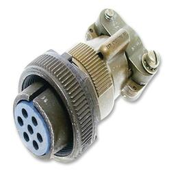 Amphenol Circular Connector Socket - 16S Shell Size & 7 Contacts