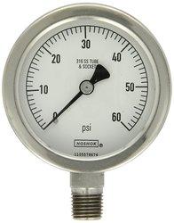 Noshok 500 Series Liquid Filled Dial Indicating Pressure Gauge