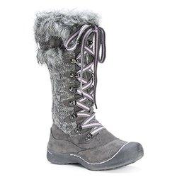 Muk Luks Gwen Women's Snow Boots - Grey - Size: 10