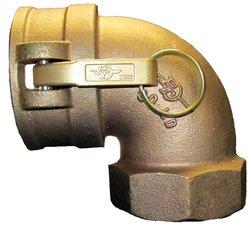 "PT Coupling 15LD Brass Cam & Groove Hose Fitting - 1-1/2"" C x NPT Female"